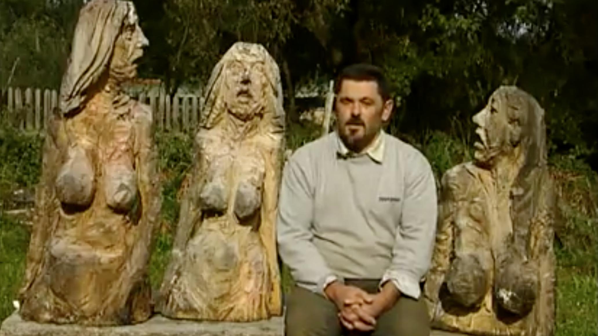 Bildhauer Clemens Heinl