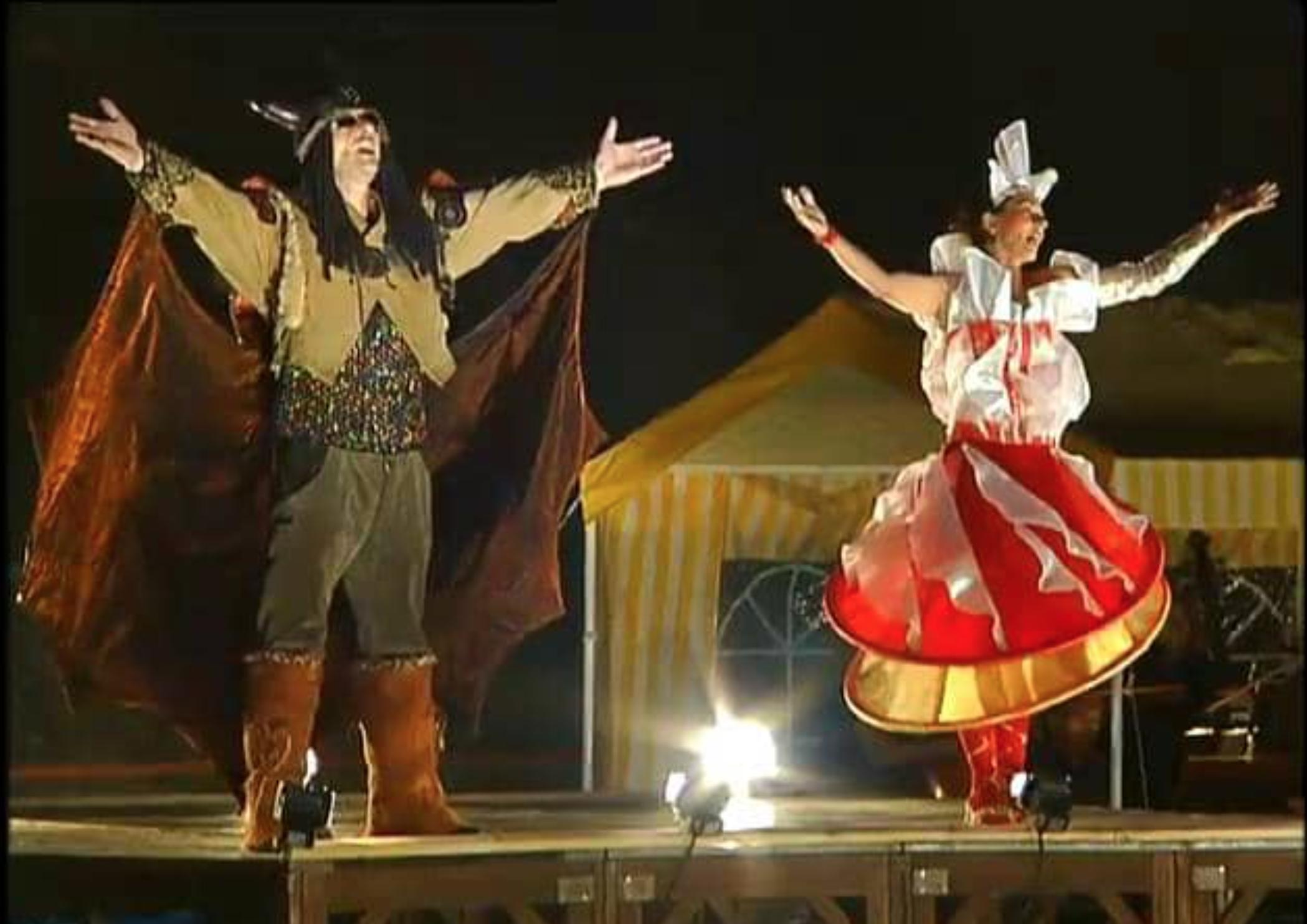 Mit der Oper auf Wanderschaft