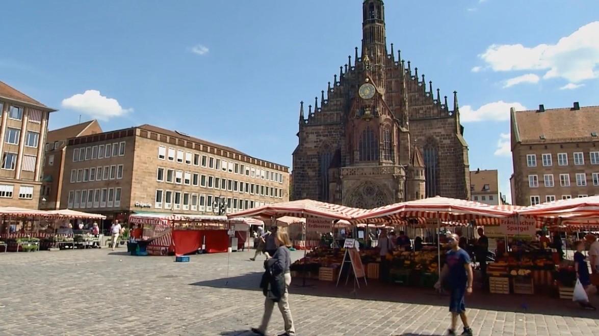 Der Nürnberger Hauptmarkt