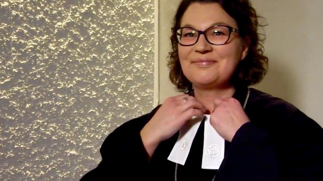 Frau Pfarrerin
