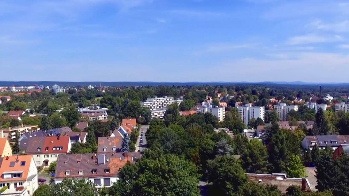 Patchwork-Stadtteil Schoppershof