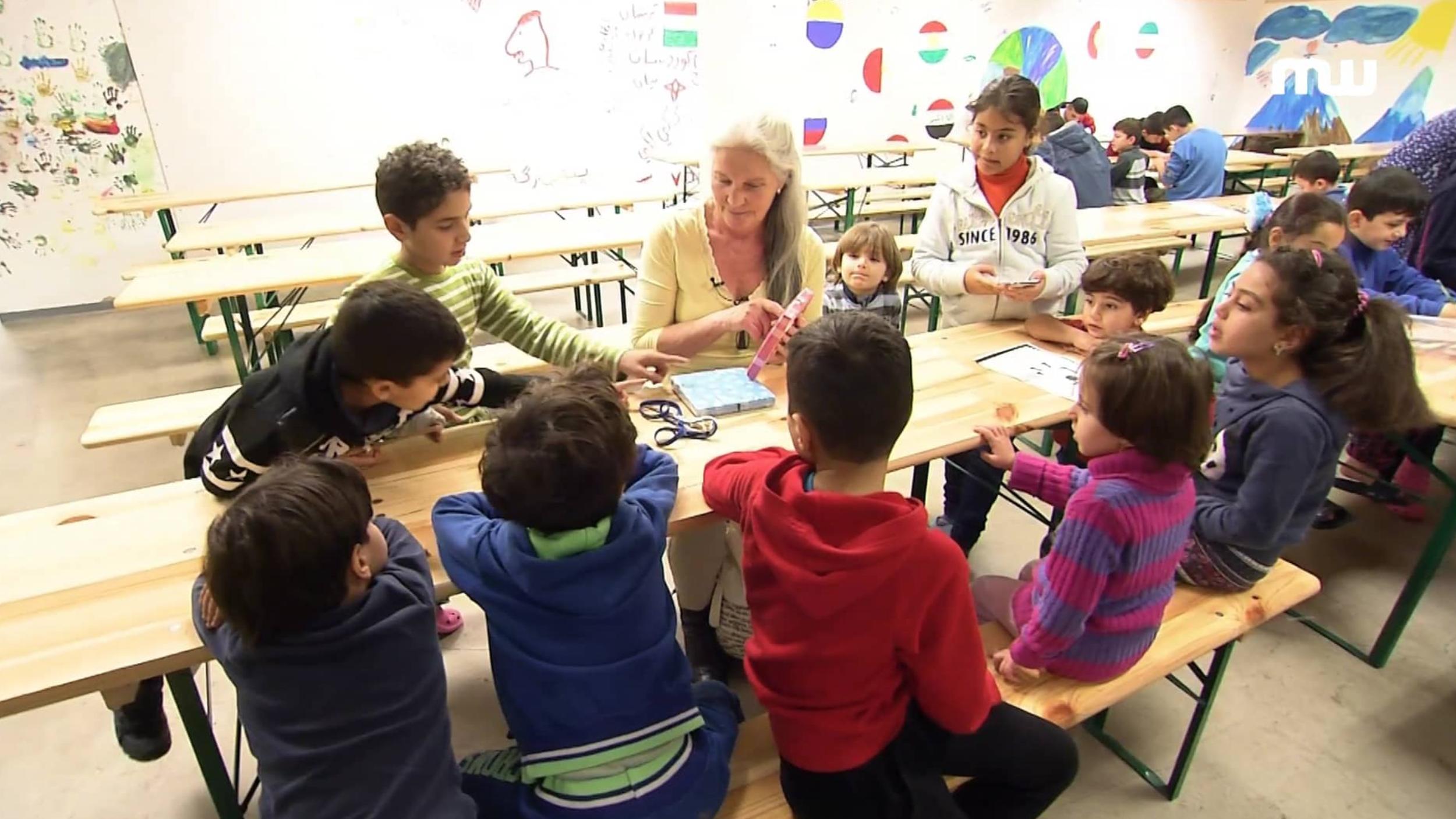 Ehrenamtliche in der Flüchtlingshilfe