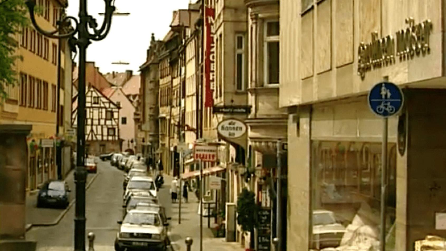 Auf der Suche nach Nürnbergs kürzester Straße