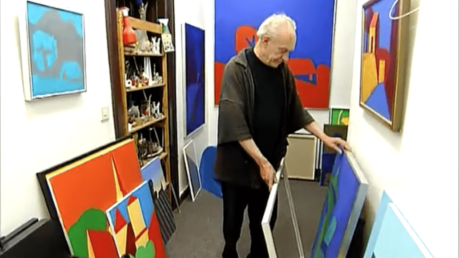 Der Maler und Poet Toni Burghart